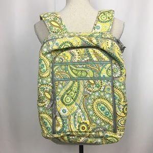 Vera Bradley Lemon Parfait Backpack